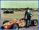 Stephens first season winning ride.  FC Elva in 1967 at Osceola raceway with SCCA Central Florida.